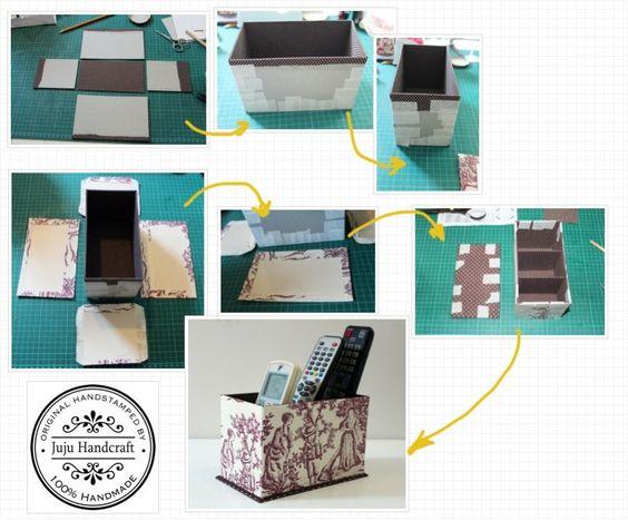 Porta controle remoto. Pode ser usado para organizar talheres, lápis , escovas, pincéis ...