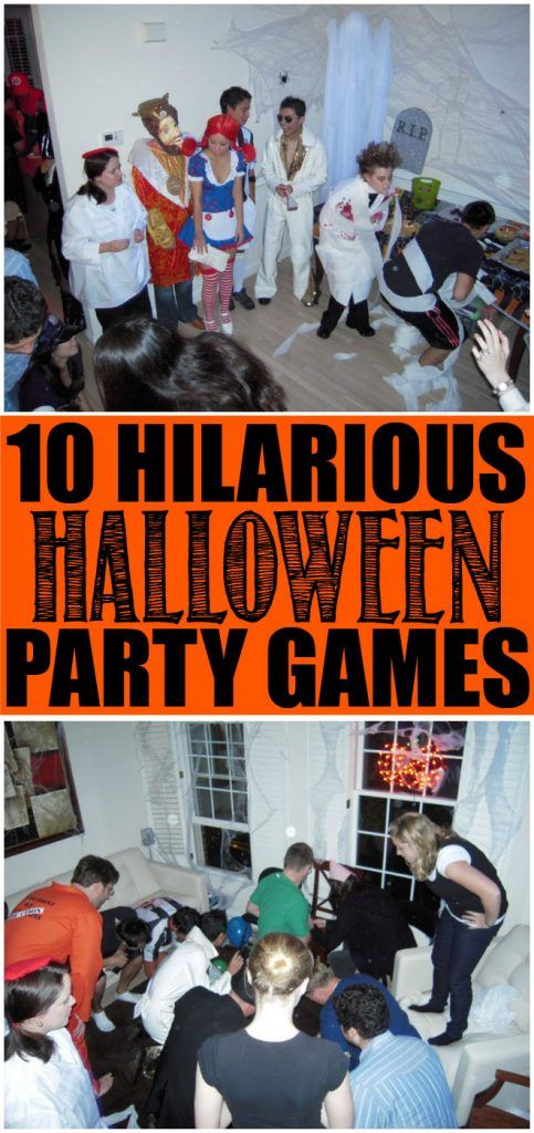 10 Fun Halloween Party Games That Are Perfect For Kids Teens Or Even Adults Great Ideas Can Be Played In The Classroom Indoor