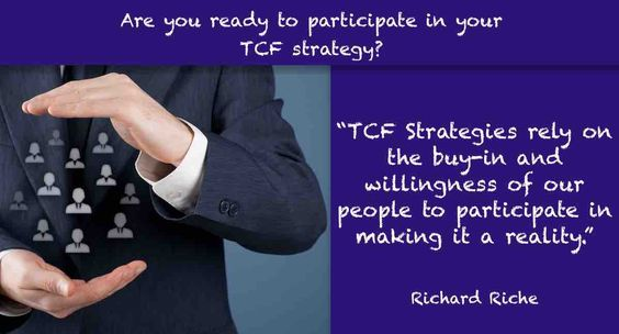dynamic leadership and participation in tcf strategy