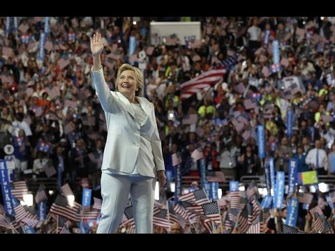 Watch Hillary Clinton's full speech at the 2016 Democratic National Conv...