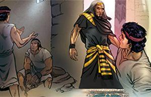 József a börtönben