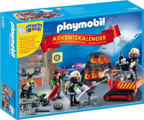 Großbrand vor der Motorradwerkstatt (Diorama)! Nun zählt jede Sekunde: Blitzschnell sind die Feuerwehrmänner mit dem großen Löschroboter sowie der Feuerwehr-Spezialausrüstung zur Stelle und bekämpf…