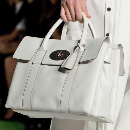 LONDON FASHION WEEK: Mulberry handbags Spring/Summer 2014