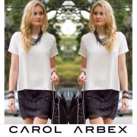Black and White for today. - www.carolarbex.com