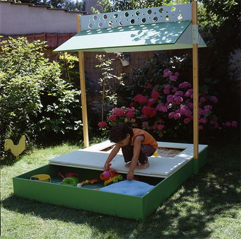 sandbox backyards and diy and crafts on pinterest