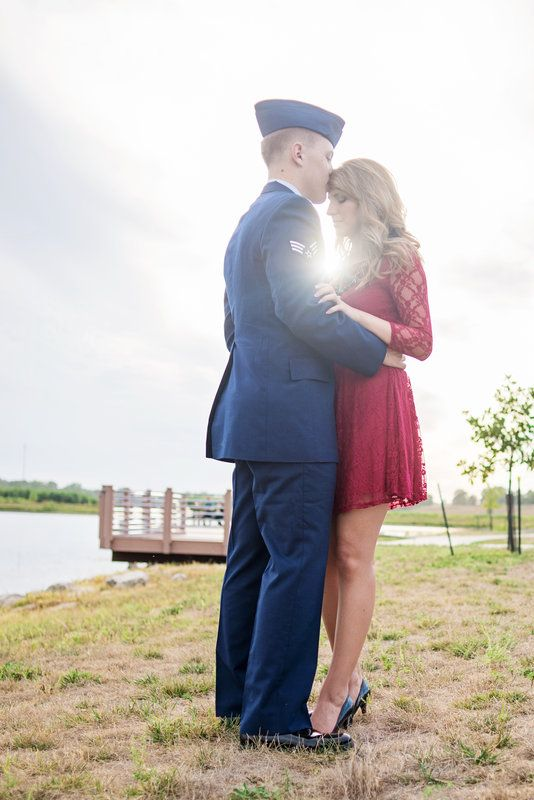 Our Air Force military engagement pictures! everlastinglovephotography.com