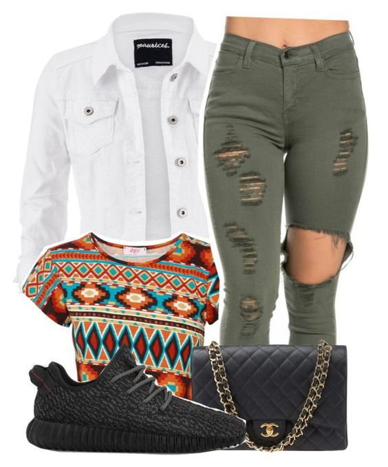 """""""."""" by karaa728 ❤ liked on Polyvore featuring maurices, Chanel and adidas"""