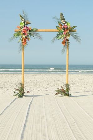 Archway for beach wedding!: Tropical Wedding, Arches Aisles, Unique Archway, Seaside Wedding, Beach Wedding Arches, Beach Weddings, Dream Wedding, Destination Weddings
