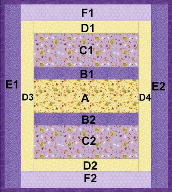 Reversible ?Quilt-As-You-Go? Crib or Lap Quilt: Project Linus Easy Strip Quilt ~ easy-to-sew ...
