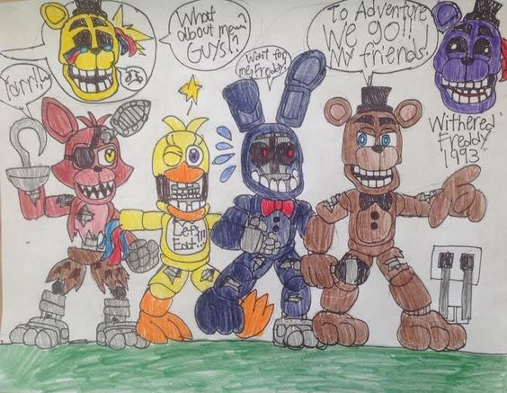 FNAF World: The Withered adventure! by WitheredFreddy1993