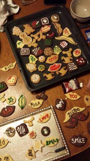 Home made Christmas cookies :)