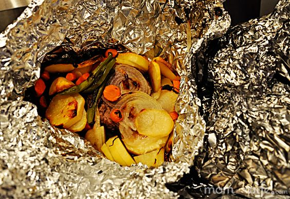 Things in a Foil - easy dinner to thrown on the grill