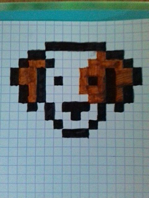 Pixel Art Chien Difficulté Très Facile Pixel Art Art Pixel