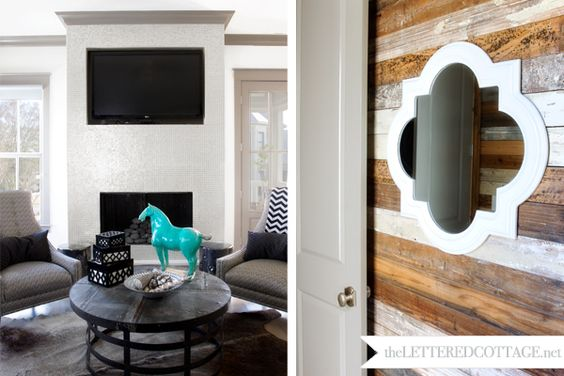 2nd floor wood plank walls and cottages on pinterest Rustic wood walls interior