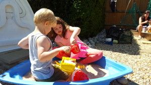 #Beach-themed childrens play area now at Living Elements, Sidlesham…