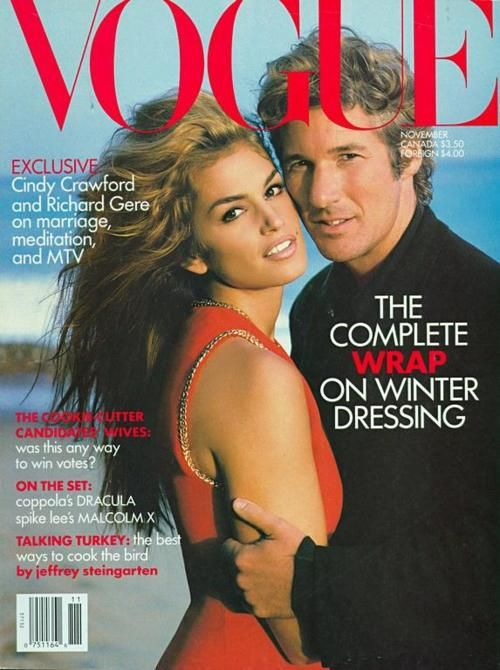 Cindy Crawford and Richard Gere Vogue