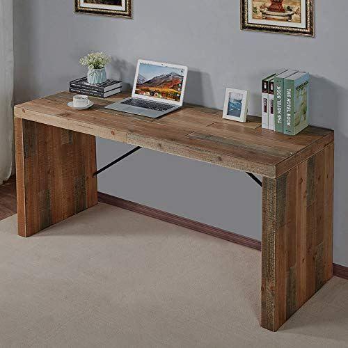 Furnichoi Computer Desk Large Wood Writing Desk Simple Home Office Desk Vintage Study Table For Pc Home Office Desks Wood Writing Desk All Modern Furniture