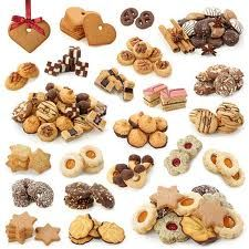 German Christmas cookies (wide variety)