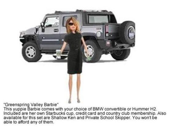 or Midtown Barbie...