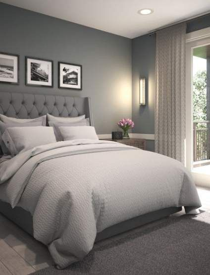 36 Ideas Bedroom White Comforter Grey Walls Luxurious Bedrooms Small Master Bedroom Master Bedrooms Decor