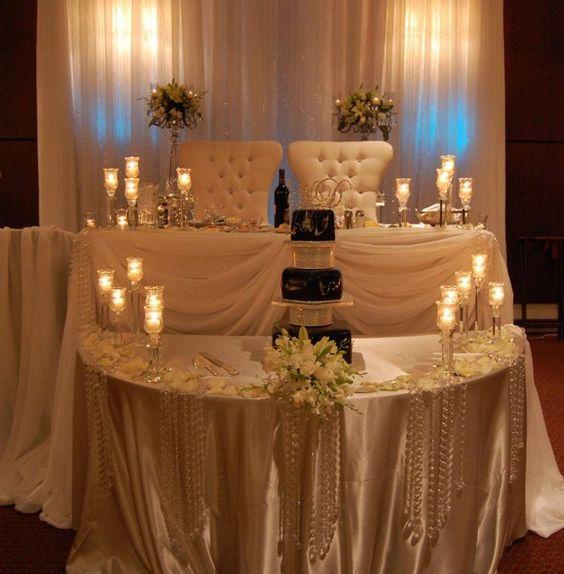 Wedding Reception Head Table Ideas: Http://marzime.hubpages.com/hub/SWEETHEART-TABLE-IDEAS
