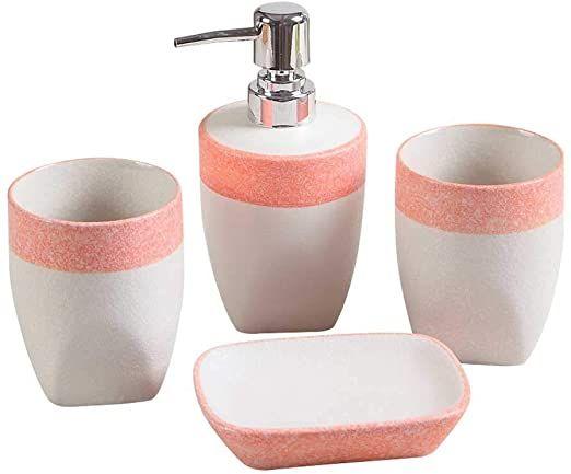Gyz Bathroom Accessories Set European Ceramic Modern Minimalist Marble Wash Bathroom Accessor Bathroom Accessories Sets Bathroom Accessories Bathroom Rug Sets