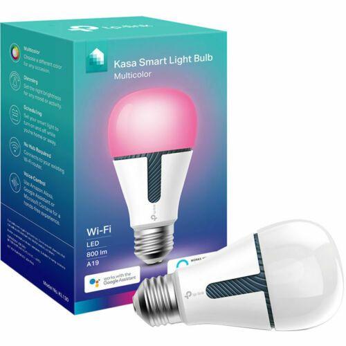 Tp Link Kl130 Kasa Smart Wi Fi Multicolor Light Bulb Dimmable 800 Lumens New Ebay Light Bulb Led Light Bulb Bulb