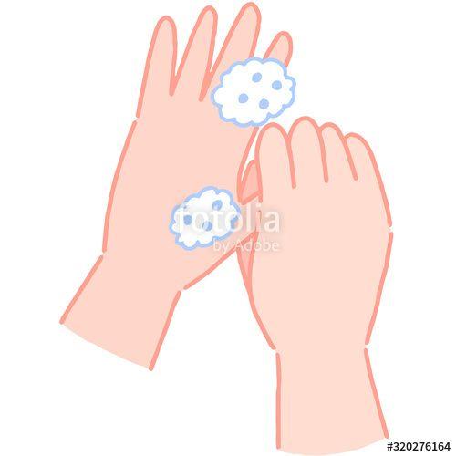 手の洗い方 親指の根元を洗う ad 親指 ad fashion illustration peace gesture illustration