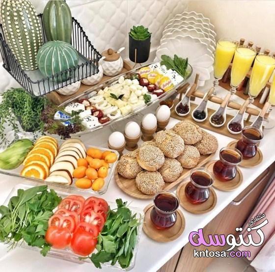 طريقة عمل بوفيه منزلي بالصور بوفيهات منزلية بالصور ديكور بوفيه منزلي فخم بوفيه مفتوح Kntosa Com 03 19 155 Food Cheese Board Breakfast