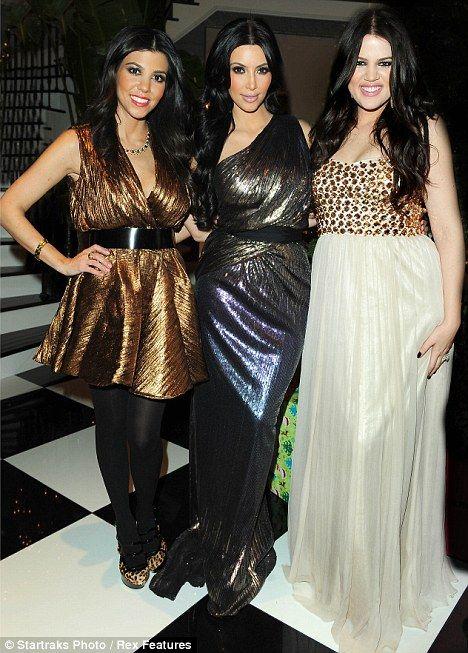 Kourtney, Kim and Khloe Kardashian!