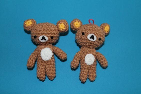 Amigurumi Pattern Rilakkuma : Rilakkuma, Bears and Bear patterns on Pinterest