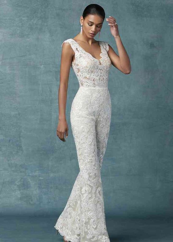 Milan Nan Wedding Dress by Maggie Sottero - WeddingWire.com