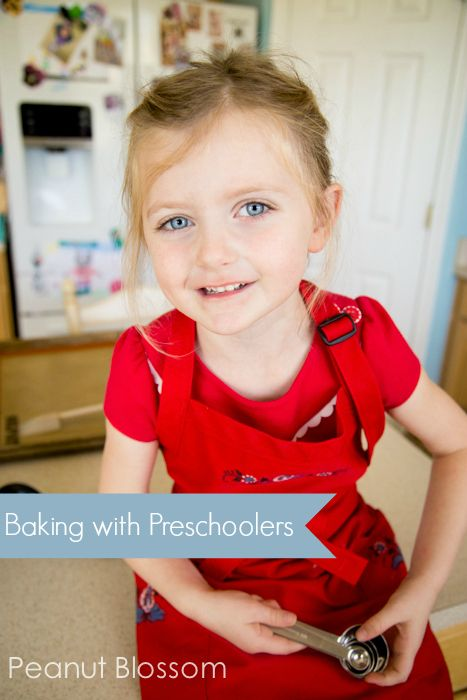 5 recipes for little hands: Baking with preschoolers