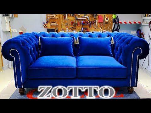 Velvet Chesterfield Sofa By Zotto Sofas Design Youtube Luxury Furniture Sofa Sofa Sofa Bed Design