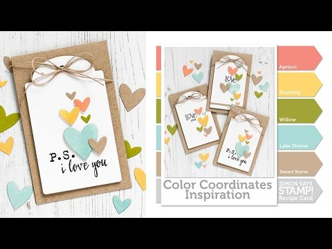 Color Coordinates: Sweet Pea - Simon Says Stamp Blog