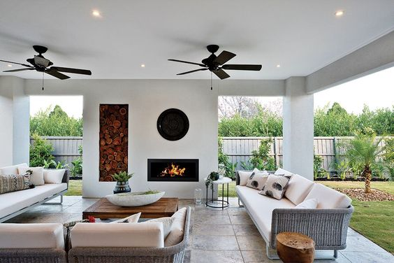 Outdoor alfresco living with a Caribbean world of style on display in the Charlton at Warralily.