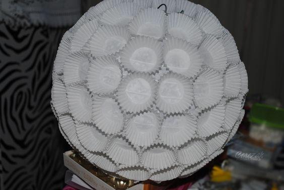DIY - Lampenschirm  Cupcake Light