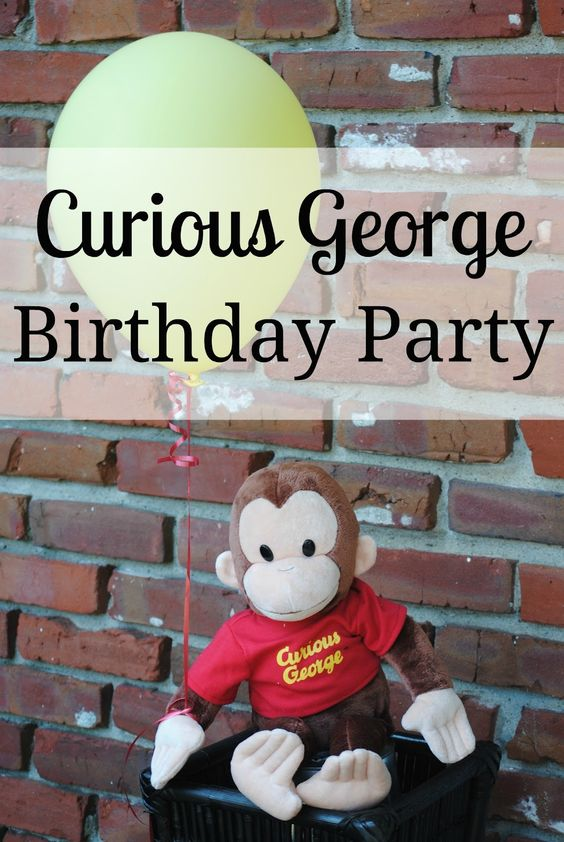 Curious George Kid's Birthday Party