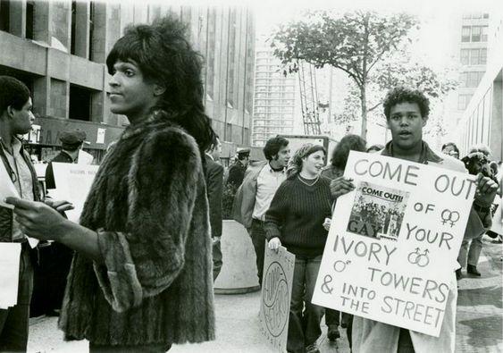 No al Whitewash (blanqueamiento) de Marsha P Johnson