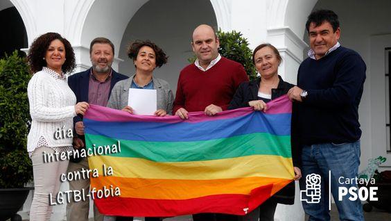 El PSOE de Cartaya pide al gobierno local medidas concretas contra la LGTBIfobia