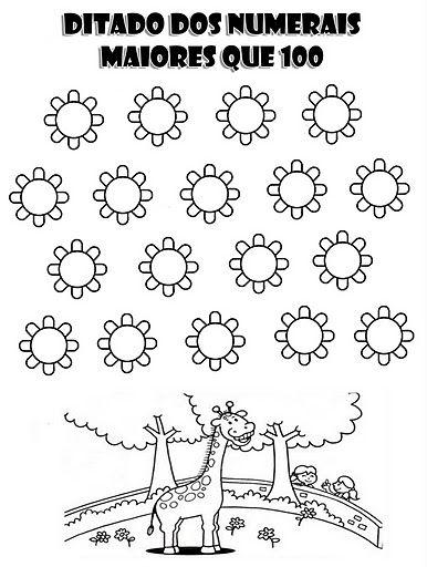 """Atividades 1º ano Matemática  Navegando pela internet encontrei muitas atividades para auxiliar você """"Pai, Aluno e Professor"""" na educação infantil. São mais de 50 Atividades de Matemática para Imprimir"""