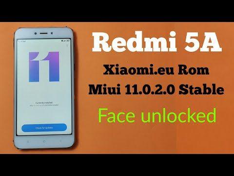 Xiaomi Eu Miui 11 Redmi 5a Youtube With Images Xiaomi