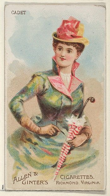 Allen & Ginter | Cadet, from the Parasol Drills series (N18) for Allen & Ginter Cigarettes Brands | The Met