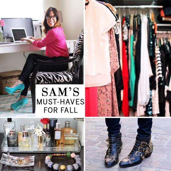 Sam tells us what she is coveting this Fall on our blog!