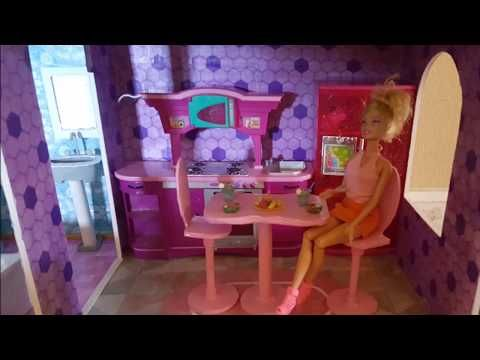 Barbie Doll House Tour Show And Tell Youtube Barbie Doll