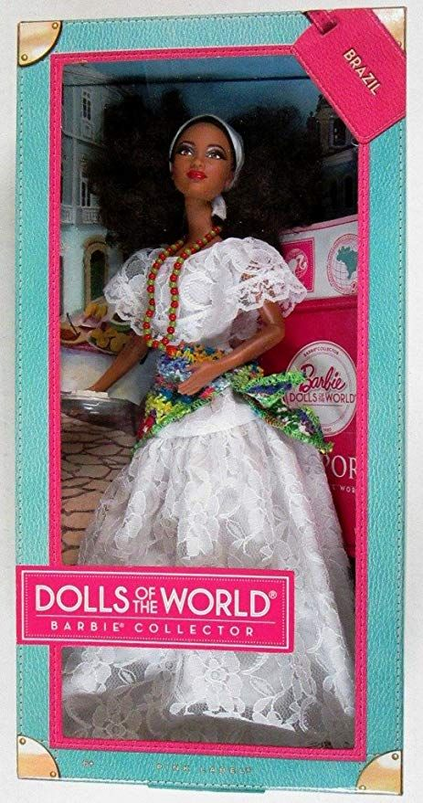 Barbie Collector W3445 Dolls Of The World Brazil Barbie