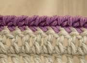 Crochet Crab Stitch Edging Tutorial