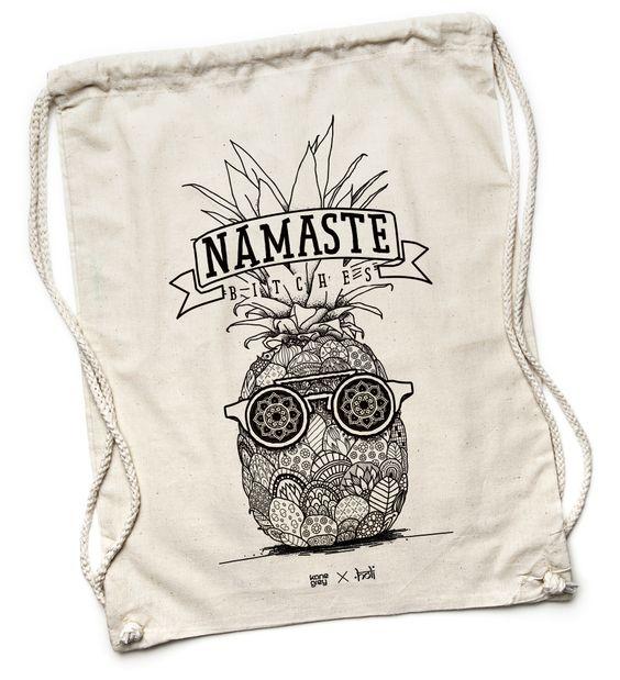 Holi Namaste - Turnbeutel