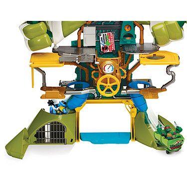 Teenage Mutant Ninja Turtles Half Shell Heroes Sewer Headquarters Playset - The Entertainer - The Entertainer