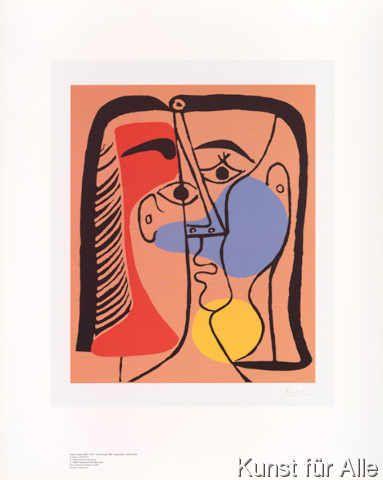 Pablo Picasso - Großer Kopf